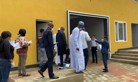 National Universities Commission 1st Accreditation final inspection of Mewar International University Nigeria