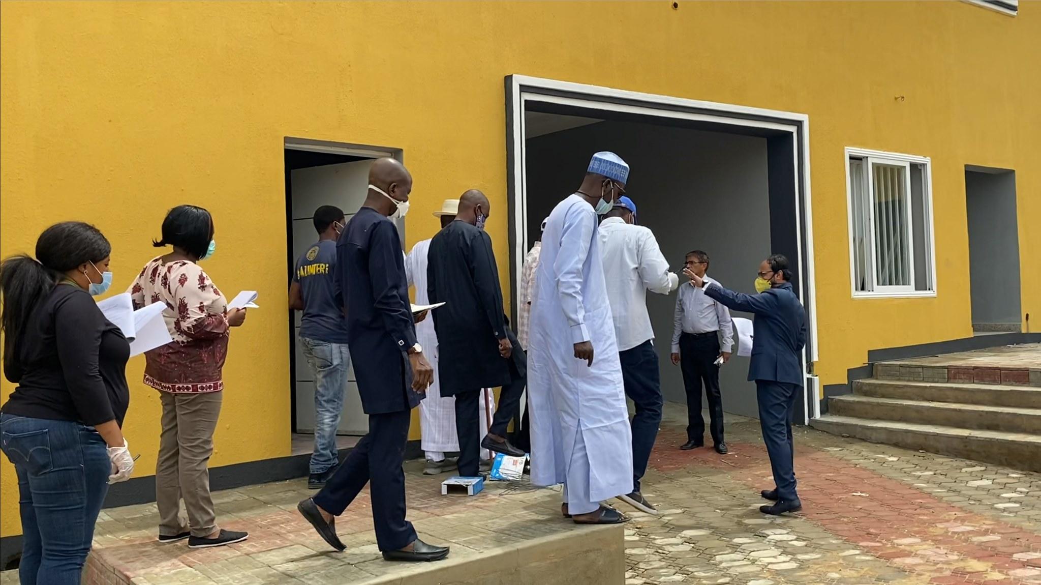 National Universities Commission Accreditation inspection of Mewar International University Nigeria