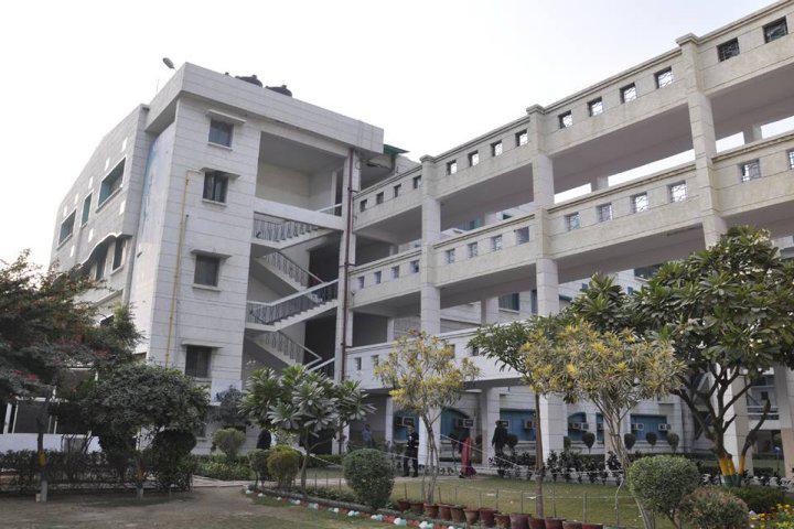 Mewar University Campus View of Mewar Institute of Management Ghaziabad Campus View.jpg