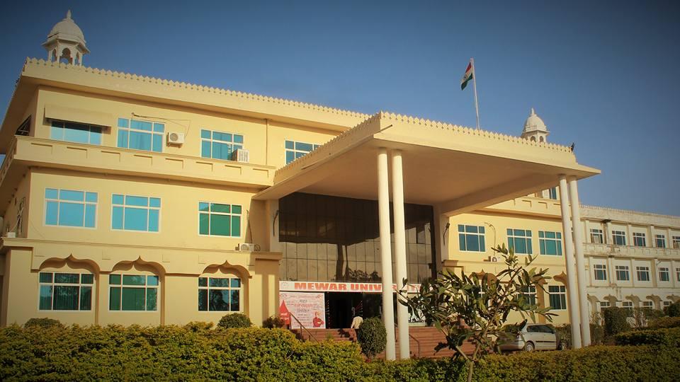 Mewar University banner1